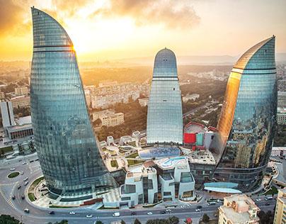 Fairmont Baku Flame Towers Wayfinding
