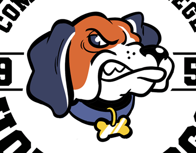 """Powers Squared"" mascot design"