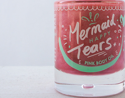 Mermaid Happy Tears // PINK BODY OIL