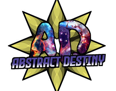 Abstract Destiny Gamer Logo