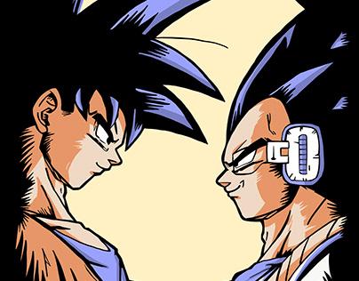 Goku V Vegeta