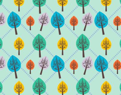 Flower & Nature Seamless Patterns