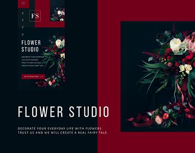 Online store Flower Studio