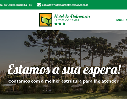 Layout PSD | Hotel & Balneário | Barbalha - CE (2017)