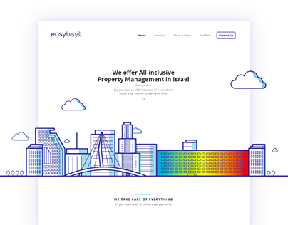 Easybayit Website (2017)