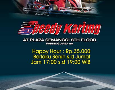 Promo at Speedy Karting
