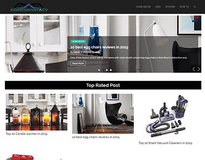 HomesFantacy Affiliate Website