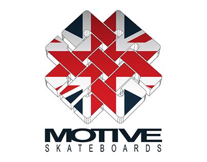 Motive Skateboards logo concept