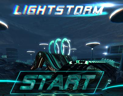 Tablet Racing Game - Lightstorm - Game design
