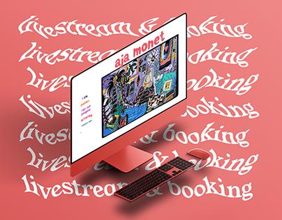 Aja Monet's Website