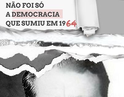 Campanha desaparecidos na Ditadura Militar