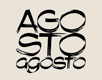 Agosto – Font Family