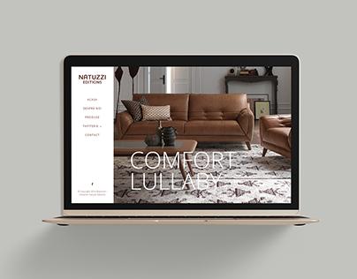 Natuzzi Editions — Website & Editorial Design