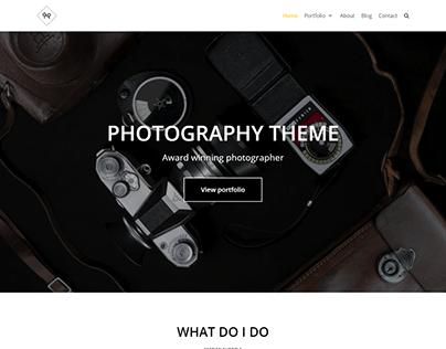 Photography WordPress theme | WordPress website