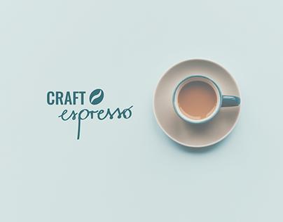 craft espresso web design