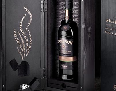 Jameson Black Barrel USA Launch Pack