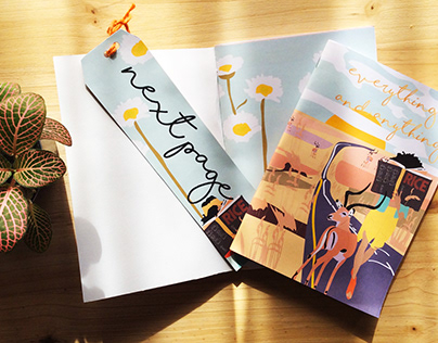 Notebooks and cards
