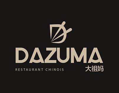 Logotype DAZUMA Restaurant Chinois