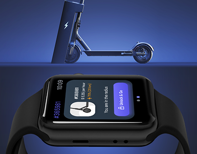 Scooter rental for Apple Watch app
