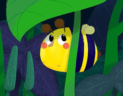 Illustration - Shy Bee