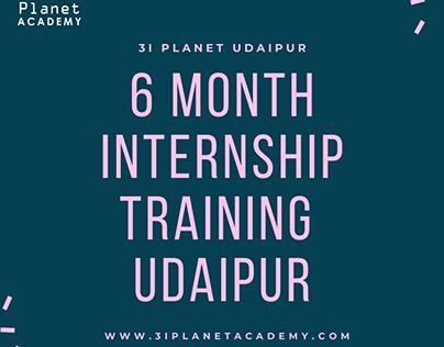 6 month internship training in udaipu
