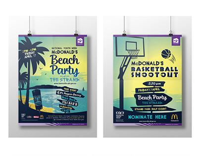McDonald's Beach Party