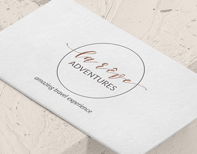Minimal business card & logo design