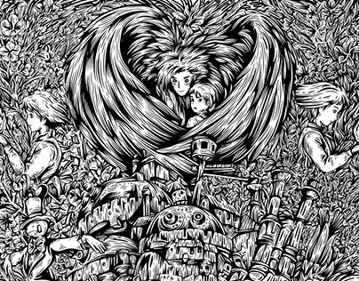 Studio Ghibli Tribute Posters