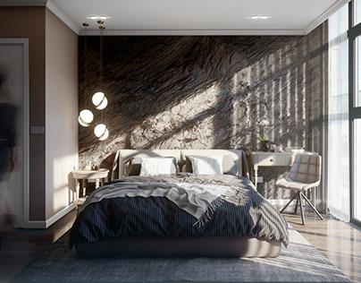 Bedroom - Day & Night Scene