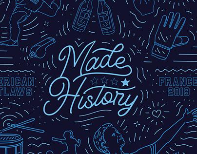 USWNT Made History
