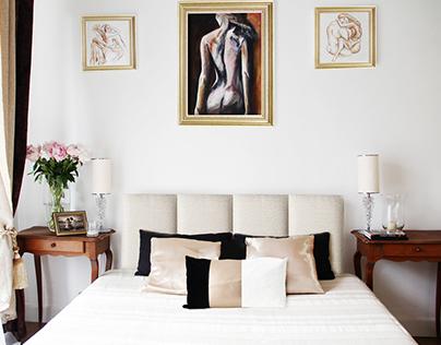 """Blue Jazz""-Apartment Interior   Nice, France "