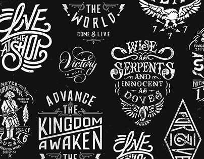 Lettering Collage - Design-By-Diamond