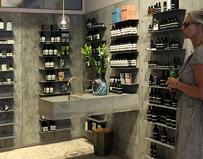 Aesop - Shop Display #1