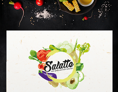 SALATTE : Brand Identity