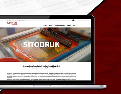 Kontur Druk - website