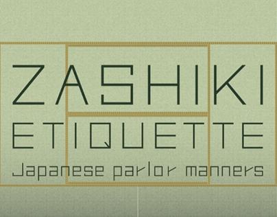 Zashiki Etiquette | Motion Graphic