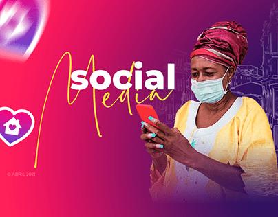 Social Media Domiciliar Vitalab
