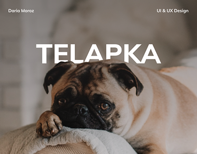 Telapka - Pet Hotel Website Design