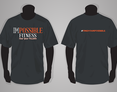 ImPossible Fitness t-shirt design