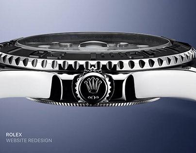 Rolex website redesign
