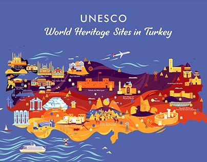 Turkish Airlines UNESCO World Heritage Sites in Turkey