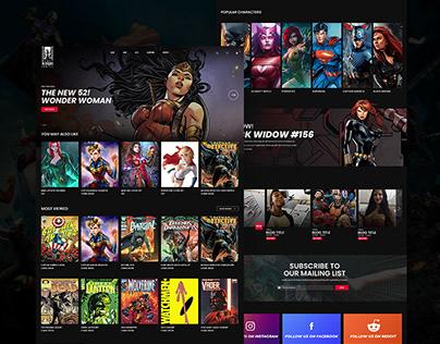 Comic Book Website
