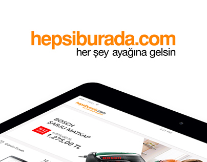 Hepsiburada.com iPad Application