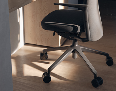 3D model Vitra Pacific Chair