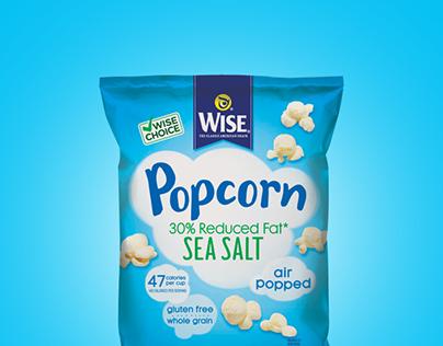 Wise Popcorn | Social Media