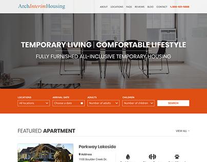 Arch Housing - Web Design, Web Development