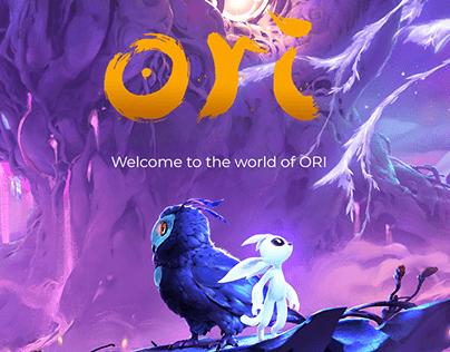 ORI. Game concept
