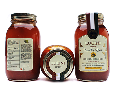 Lucini Packaging Redesgin