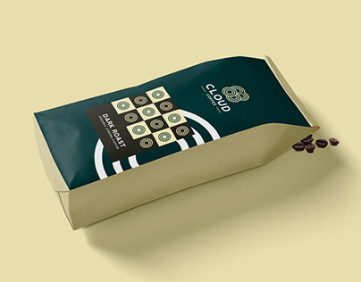 Cloud Coffee- Brand identity / packaging