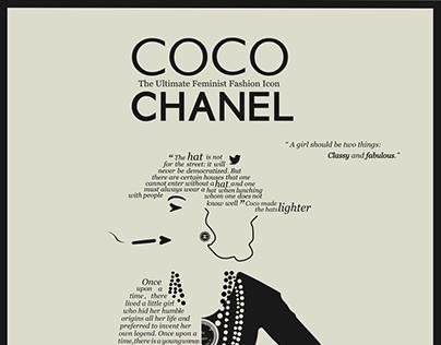 illustration   Coco Chanel